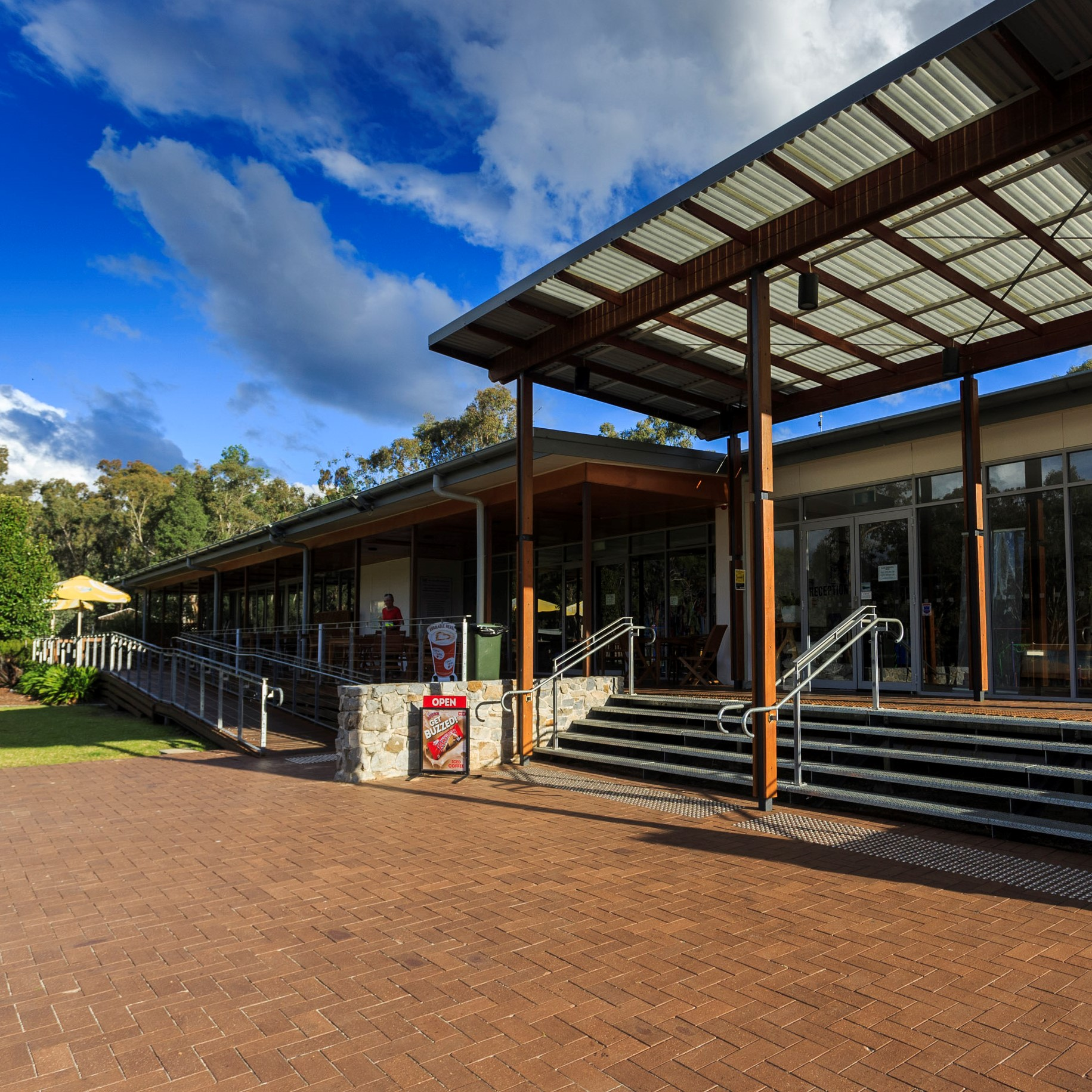 Reflections Holiday Parks Copeton Waters Front Office