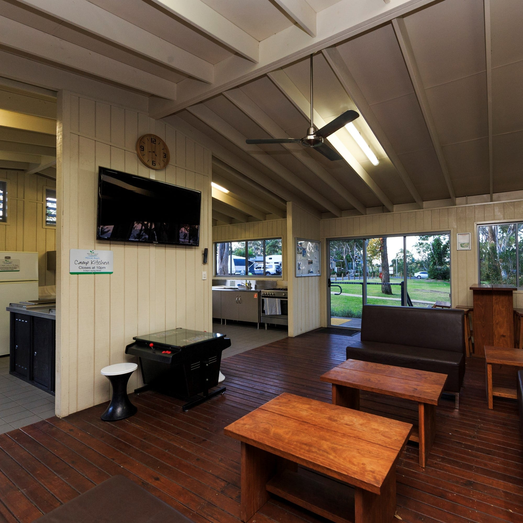 Image of the Reflections Holiday Parks Moonee Beach Camp Kitchen