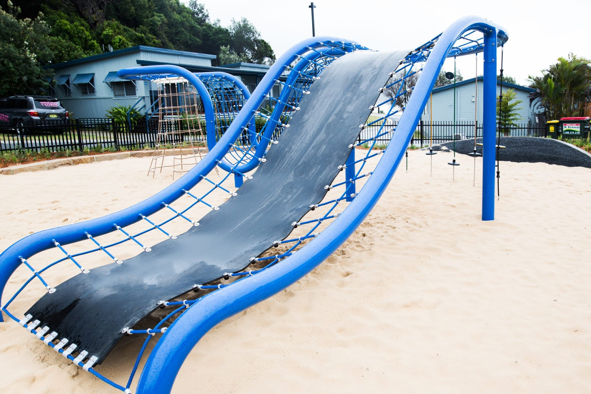 The new playground at Reflections Holiday Parks Seal Rocks