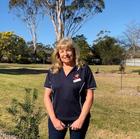 Pambula Park Manager Helen looks forward to welcoming you to her corner of the NSW Sapphire Coast